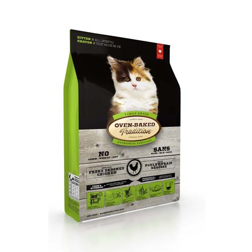 OBT Oven-Baked Tradition Cat Kitten Chicken 2,27 kg
