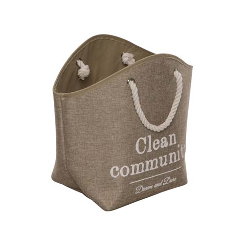 EBI D&D HOMECOLLECTION PET-CAVE LAUNDRY BAG BEIGE 27x24x38cm