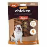 LES FILOUS BARBECUE CHICKEN STEAK 100g pro psy