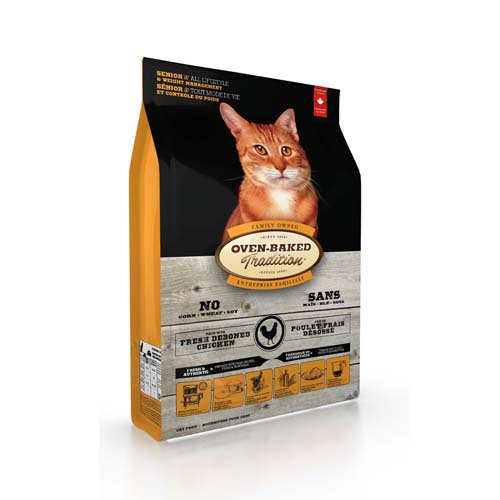 OBT Oven-Baked Tradition Cat Senior Chicken 4,54 kg