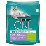 PURINA ONE 800g Sensitive s krůtím a rýží