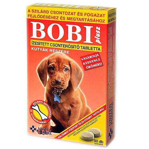 BOBI PLUS tablety na kosti 50tbl.