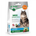 DR. SEIDEL snacks for cats - MIX 2in 1 for fresh breath & malt 60g
