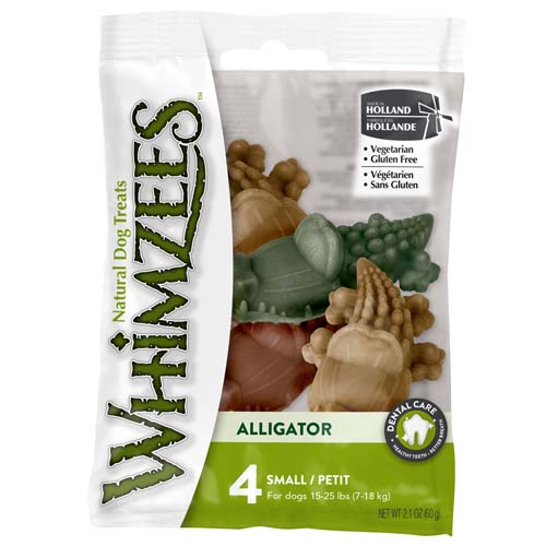 WHIMZEES Flow Wrap Alligator S 6,9cm / 15g 4ks