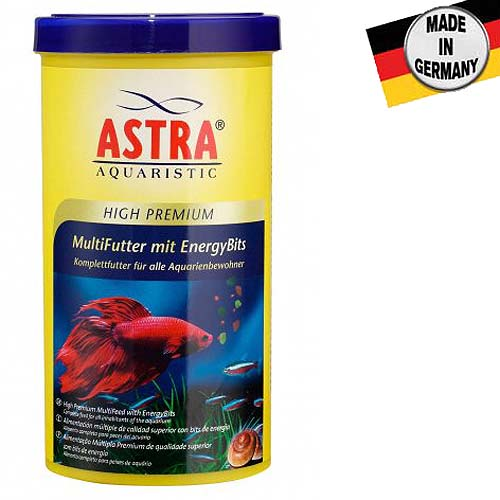 ASTRA HIGH PREMIUM MULTIFUTTER MIT ENERGY BITS 1.000ml