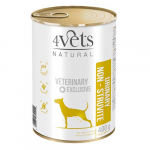 4Vets NATURAL VETERINARY EXCLUSIVE URINARY SUPPORT 400g dog