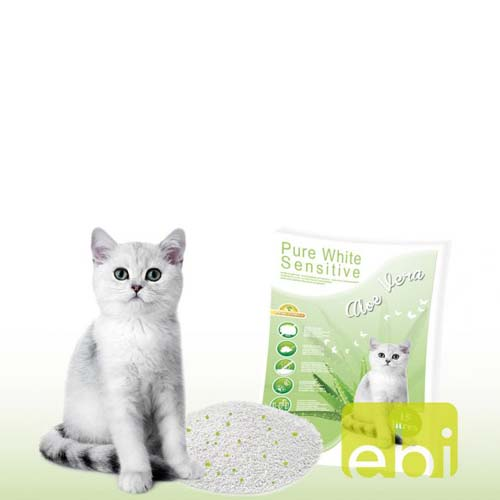 EBI Pure White Sensitive 0,5-2mm 15l ALOE-VERA