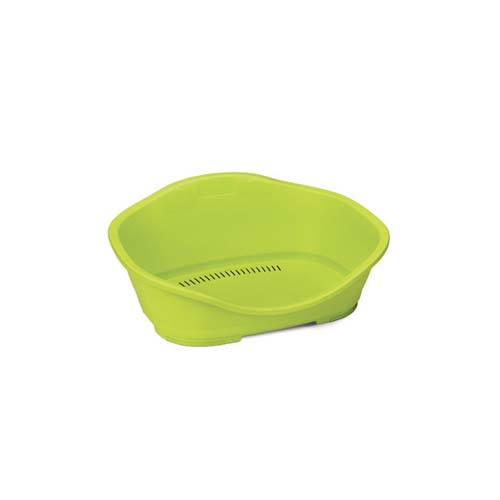 STEFANPLAST Sleeper 1 lime green 56,5x42x24,2cm