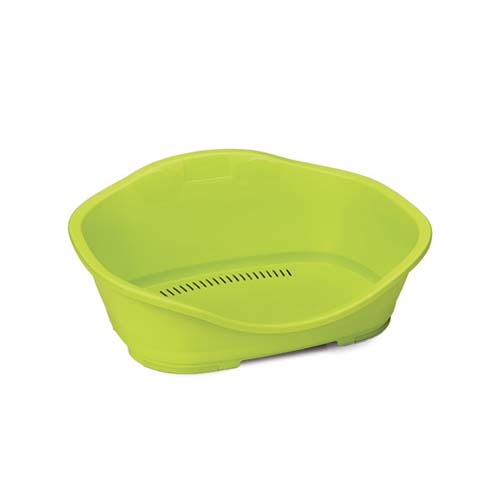 STEFANPLAST Sleeper 3 lime green 80,5x55x32cm