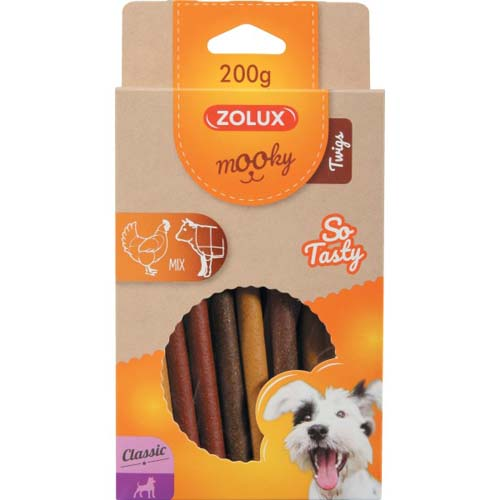 ZOLUX MOOKY CLAS TWIGS mix 200g